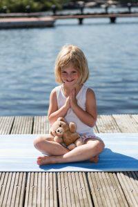 Afbeelding kinder yoga